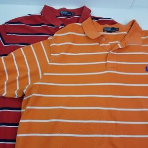 2 Polo Ralph Lauren Mens 3XB Big Short Sleeve